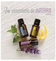 Pourquoi les huiles essentielles Doterra?